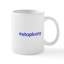 #stopkony blue Small Small Mug