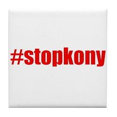 #stopkony Uganda Tile Coaster