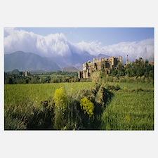 Ruins of a fort, Kasbah Of Telouet, Morocco