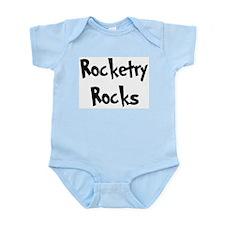 Rocketry Rocks Infant Creeper