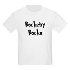 Rocketry Rocks Kids T-Shirt