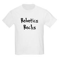 Robotics Rocks Kids T-Shirt