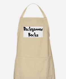 Backgammon Rocks BBQ Apron