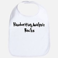 Handwriting Analysis Rocks Bib