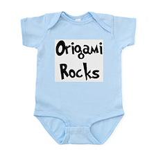 Origami Rocks Infant Creeper