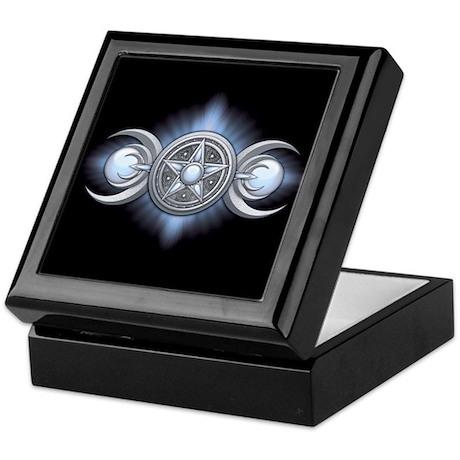 Moonstone Triple Goddess Keepsake Box