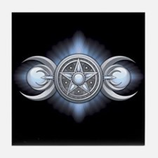 Moonstone Triple Goddess Tile Coaster