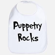 Puppetry Rocks Bib