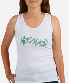 "Clover Green ""Rue's Whistle"" Women's Tank Top"