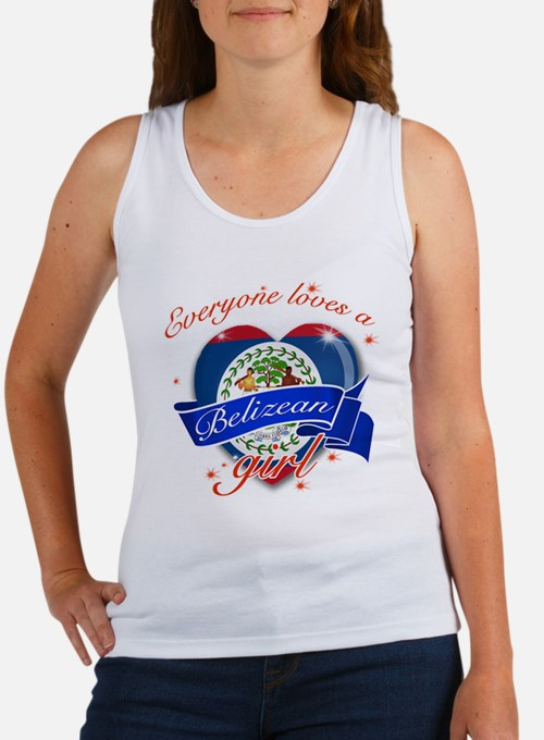 I heart Belizean Designs Women's Tank Top