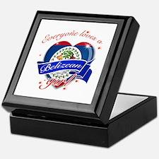 I heart Belizean Designs Keepsake Box