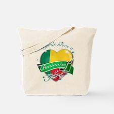 I heart Beninoise Designs Tote Bag