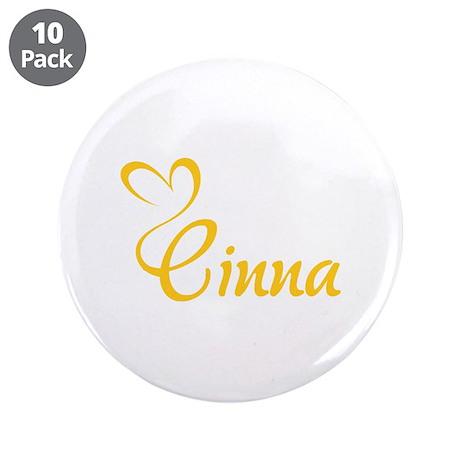 """HG Cinna 3.5"""" Button (10 pack)"""