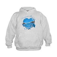 I heart Botswanan Designs Hoodie