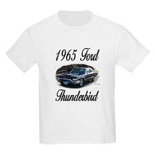 1965 Black Ford Thunderbird T-Shirt