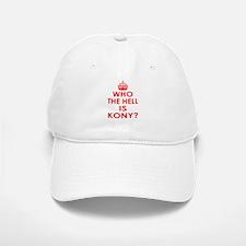 Who The Hell Is Kony? Baseball Baseball Cap