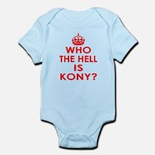 Who The Hell Is Kony? Infant Bodysuit