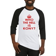 Who The Hell Is Kony? Baseball Jersey