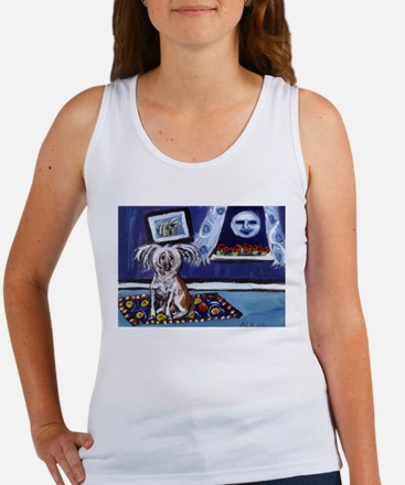 Cute Chinese crested Women's Tank Top