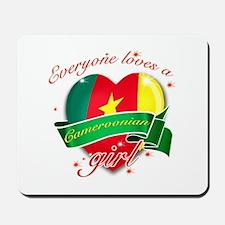 I heart Cameroonian Designs Mousepad
