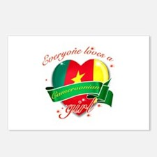 I heart Cameroonian Designs Postcards (Package of