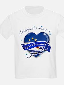I heart Cape verdean Designs T-Shirt