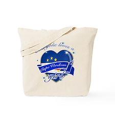 I heart Cape verdean Designs Tote Bag