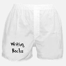 Writing Rocks Boxer Shorts