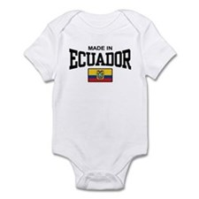 Made In Ecuador Infant Bodysuit