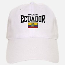 Made In Ecuador Baseball Baseball Cap