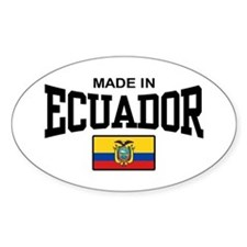 Made In Ecuador Decal