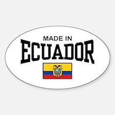 Made In Ecuador Decal