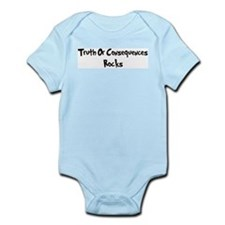 Truth Or Consequences Rocks Infant Creeper