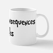 Truth Or Consequences Rocks Mug