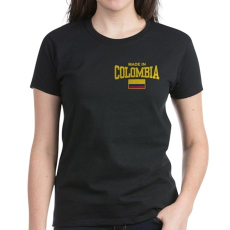 Made In Colombia Women's Dark T-Shirt