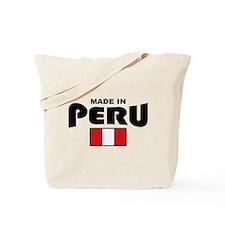 Made In Peru Tote Bag