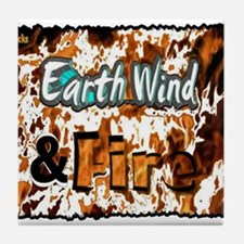 earth wind and fire Tile Coaster