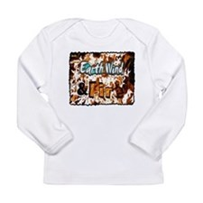 earth wind and fire Long Sleeve Infant T-Shirt