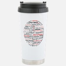 Bon appetit in different lang Travel Mug