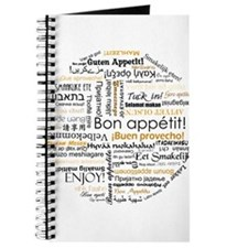 Bon Appetit in many languages Journal