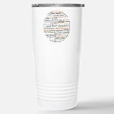 Bon Appetit in many languages Travel Mug