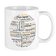 Bon Appetit in many languages Small Mug