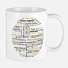 Bon Appetit in many languages Small Small Mug