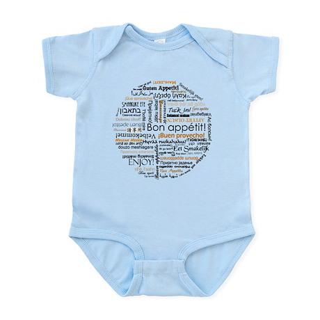 Bon Appetit in many languages Infant Bodysuit