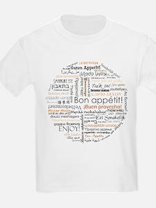 Bon Appetit in many languages T-Shirt