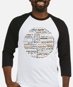Bon Appetit in many languages Baseball Jersey