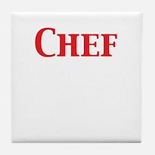 Chef Tile Coaster