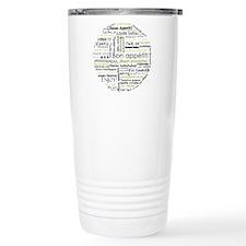 Bon appetit in other language Travel Mug