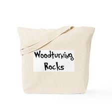 Woodturning Rocks Tote Bag