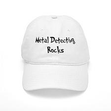 Metal Detecting Rocks Baseball Cap